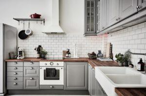 Grey Kitchen Designs, Ideas, Cabinets, Photos