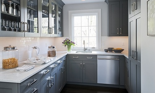 Grey kitchen decorating ideas by homedecorbuzz