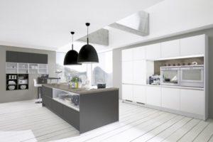 Modern Gray-white kitchen design