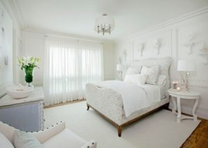 Amazing white bedroom design