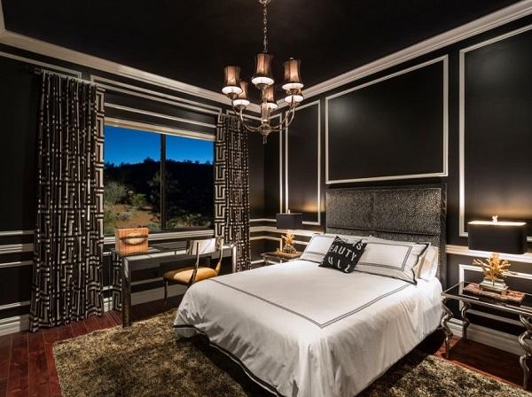 Black Bedroom Designs, Decor, Ideas, Photos