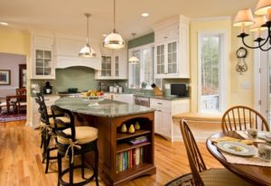 best yellow and green kitchen interior designs