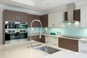 Elegant and latest color theme kitchen style