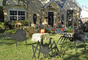 Haunting halloween home decor ideas