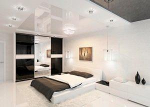 Luxurious white bedroom decor