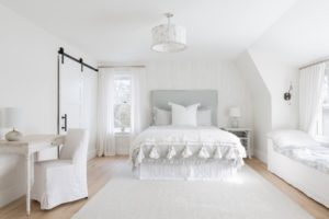 Pure white bedroom with amazing white furniture