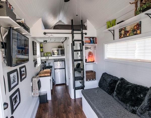 Tiny home interior decor and design