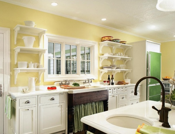 Yellow And Green Kitchen Design Ideas