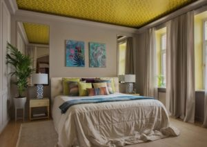 Yellow bedroom decorating ideas inspiration by homedecorbuzz