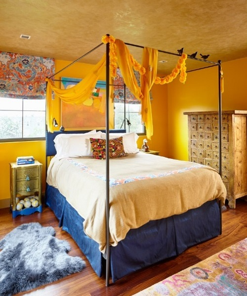 Yellow Bedroom Designs, Ideas, Decor Photos 2019 | Home ...