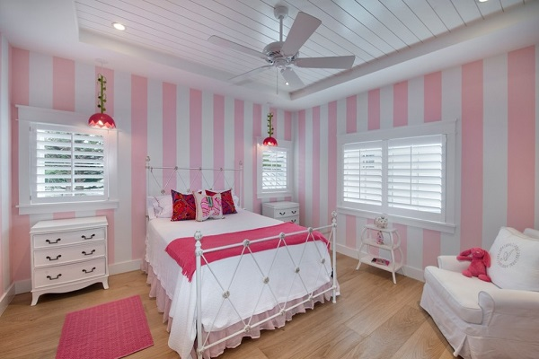 Beautiful pink bedroom decor inspiration