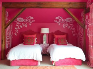 beautiful pink bedroom interior design for teen girls