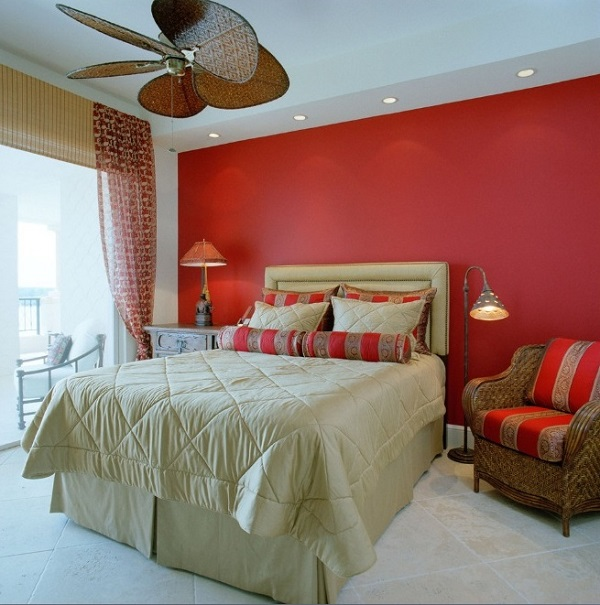 beautiful red bedroom interior designs