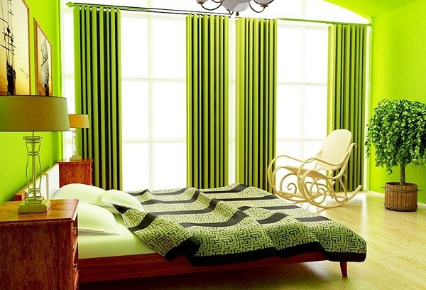 Green Bedroom Designs, Ideas, Interior Decor, Photos | Home Decor Buzz