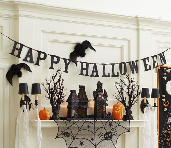 happy halloween home decorations - Halloween Home Decor