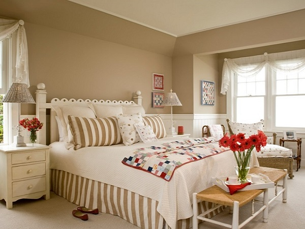Top brown bedroom interior design photo by homedecorbuzz