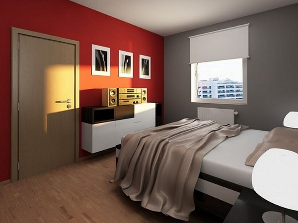 Ultimate red-grey bedroom decor ideas