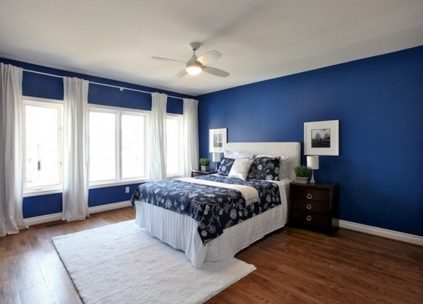 Best bedroom designs in blue color