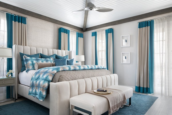 Blue bedroom design picture by homedecorbuzz