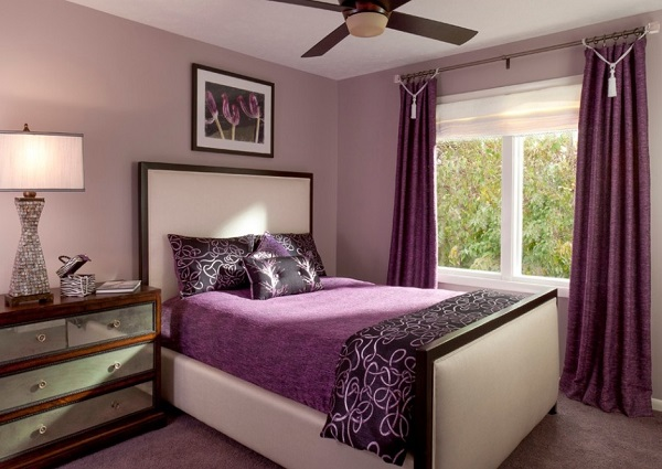 purple themed bedroom purple bedroom decor designs ideas photos 13014