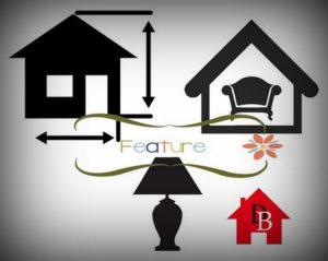Feature home decor, design, improvement, art, construction work.