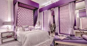 Purple Bedroom Decor, Designs, Ideas, Photos