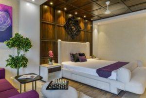 Purple bedroom design ideas by homedecorbuzz