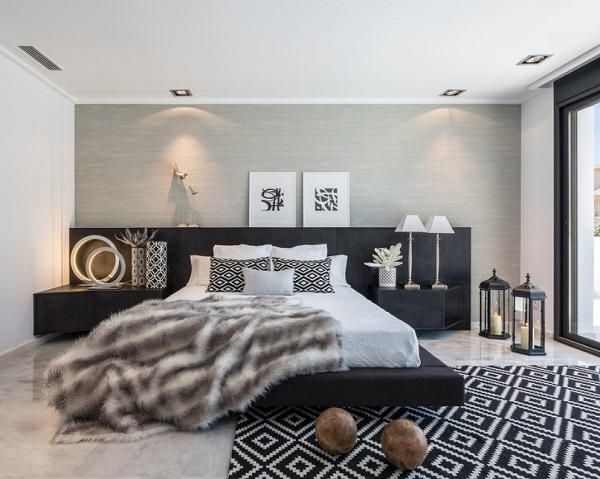 Beautiful grey bedroom design ideas
