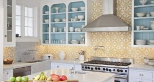 Yellow and White Kitchen Designs