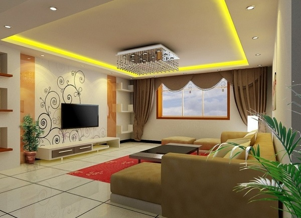 Decent living room interior decor ideas - Decor and interior living room design ...