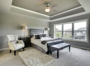 Gray bedroom interior designs
