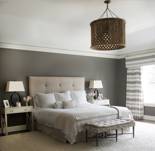 Latest grey bedroom design architecture from San Francisco