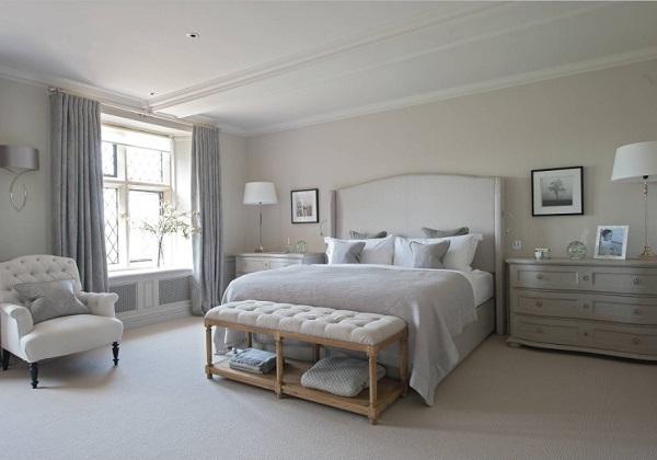 Lovely gray bedroom design ideas