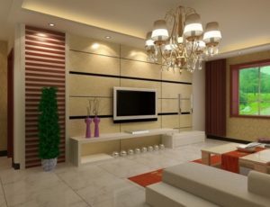 Luxury living room design picture