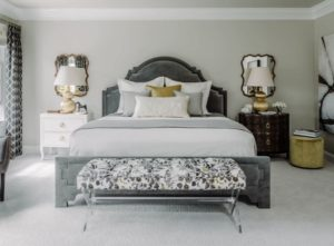 Master bedroom decorating tips for gray colour scheme