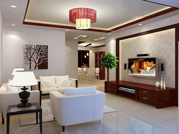Minimalist living room design pictures