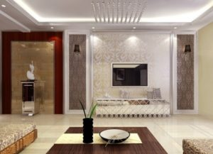Splendid living room interior decor