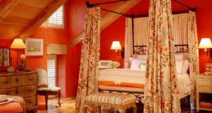 Orange Bedroom Designs, Decorating Ideas, Photos