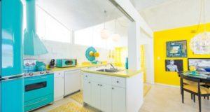 Yellow and White Kitchen Designs, Photos