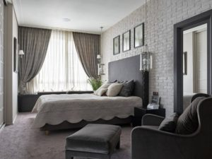 Wonderful gray bedroom design from Newyork