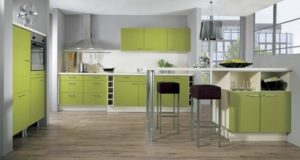 Green-White Kitchen Design Ideas