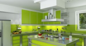 How To Decorate Home Interior In Green Color