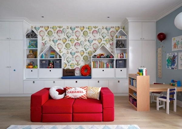 Family room design for kids