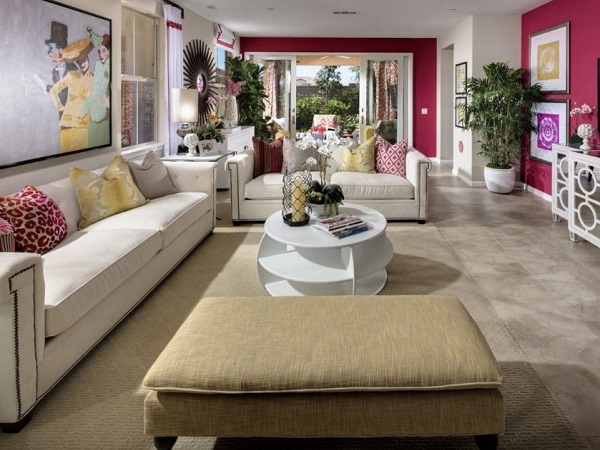Family room interior decor, ideas, tips.