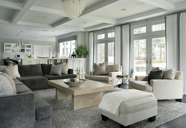 How to decorate family room
