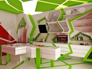 Ultimate green-white kitchen design tips