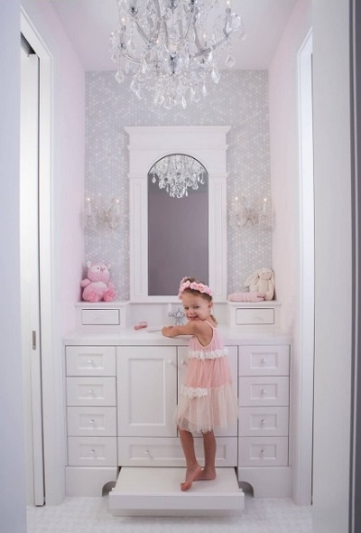 baby girl bathroom interior design On toddler girl bathroom ideas