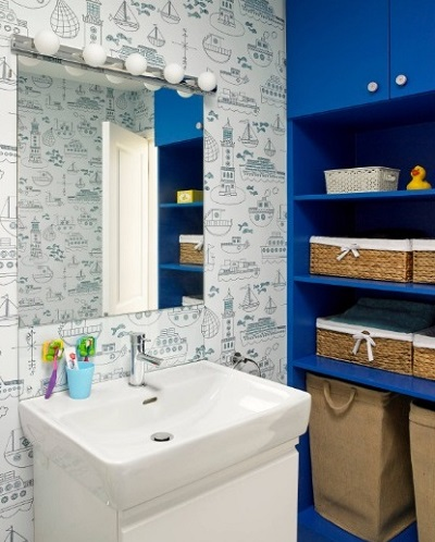Kid's bathroom decorating ideas