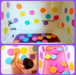 Polka Dotty Spotty Bath-Tube