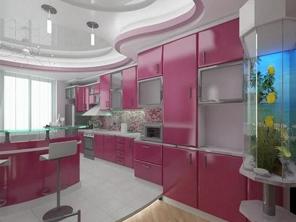 Lovely pink design idea